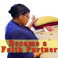 Become a Faith Partner